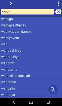 Somali Swedish dictionary poster