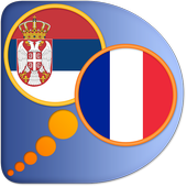 French Serbian dictionary icon
