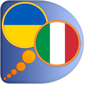 Italian Ukrainian dictionary icon