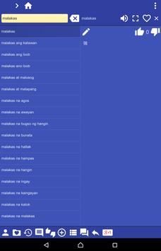 Filipino (Tagalog) Chinese Tra apk screenshot