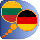 German Lithuanian dictionary icon