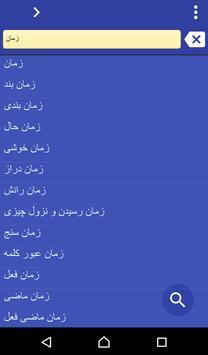 Persian (Farsi) French dict poster