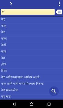 Marathi Urdu dictionary poster