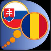 Romanian Slovak dictionary icon