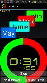 Turn Timer poster
