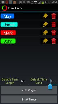Turn Timer screenshot 1
