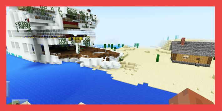 Shipwreck Survival Island. Map for MCPE for Android - APK Download