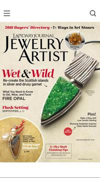 Lapidary Journal Jewelry Artist poster