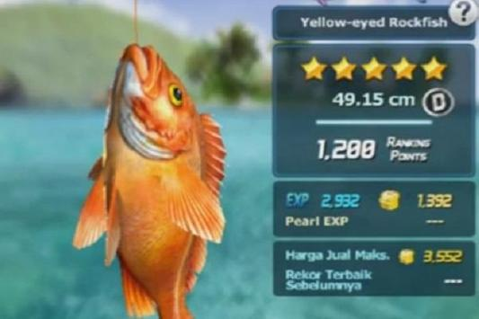 Cheats ACE FISHING WILD CATCH screenshot 1