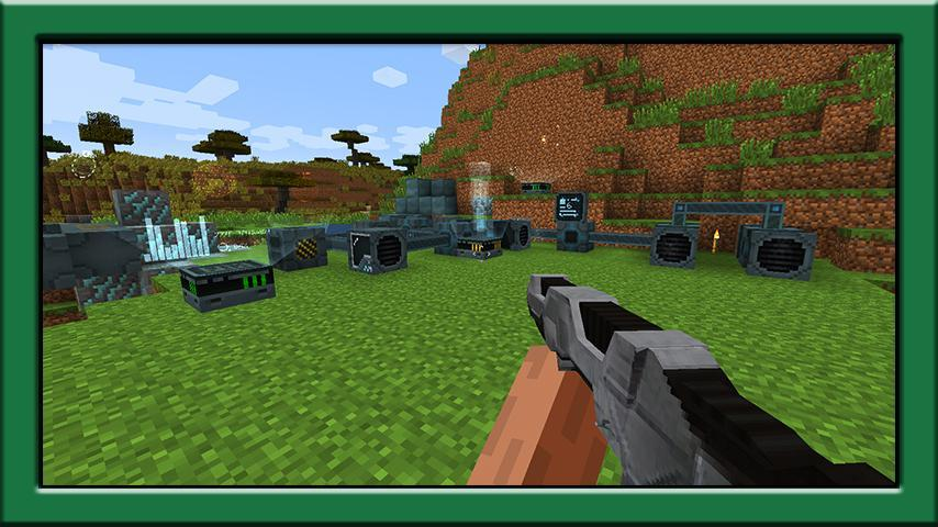 Laser Gun Mod For Minecraft Pe For Android Apk Download