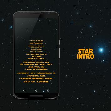 STARINTRO for Kustom KLWP apk screenshot