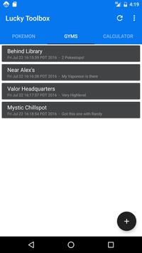 Lucky Toolbox for Pokemon Go apk screenshot