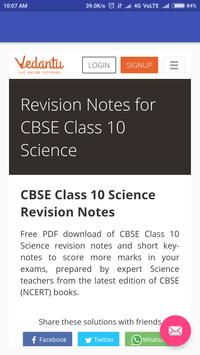 CBSE Class 10th Notes poster