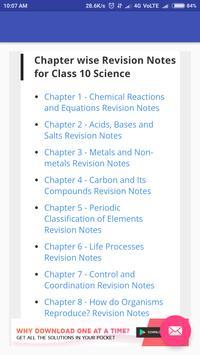 CBSE Class 10th Notes screenshot 1