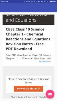 CBSE Class 10th Notes screenshot 2