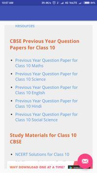 CBSE Class 10th Notes screenshot 4