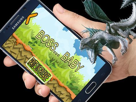 Boss super Baby Dragon Run screenshot 1