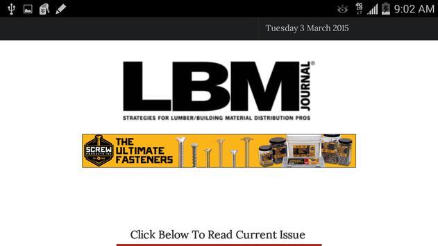 LBM Journal apk screenshot