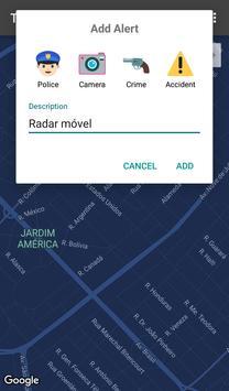 TASE - Anonymous Map Alerts apk screenshot