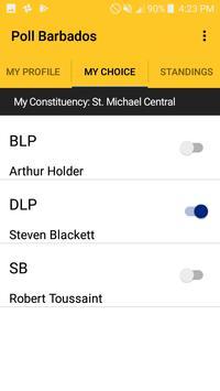 Poll Barbados screenshot 1