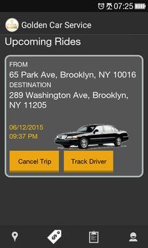 Golden Car Service apk screenshot