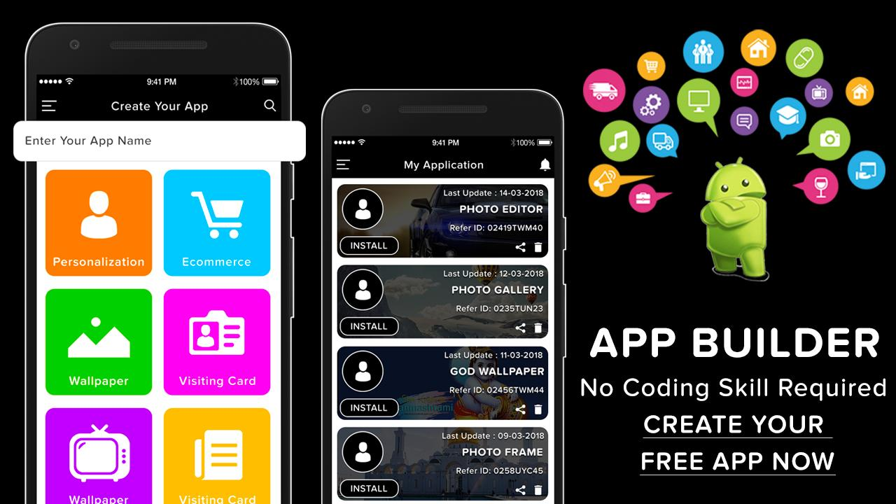 Let's App Maker & Creator : Prime App Builder for Android