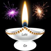 Diwali Lamp Free icon