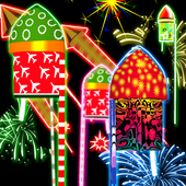 Rocket Diwali Launcher icon