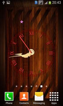 Wooden Analog Clock screenshot 4