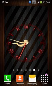 Wooden Analog Clock screenshot 7