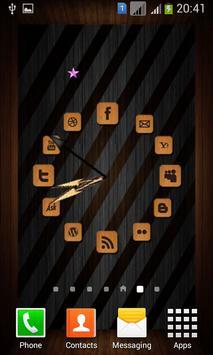 Wooden Analog Clock screenshot 1