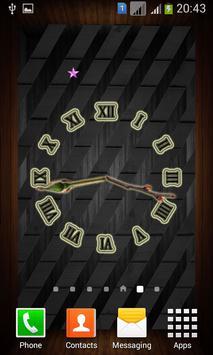 Wooden Analog Clock screenshot 3