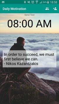 Daily Motivational Quotes poster