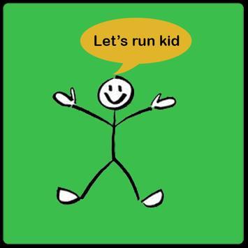 Let's run kid - Fun game 2017 poster