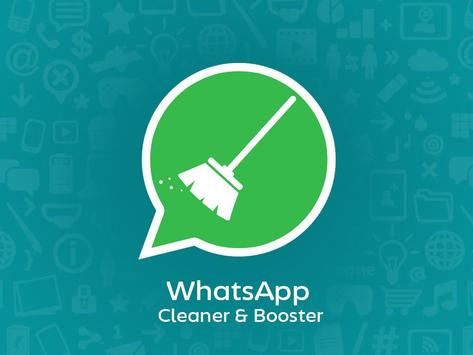 Cleaner & Booster for WhatsApp poster