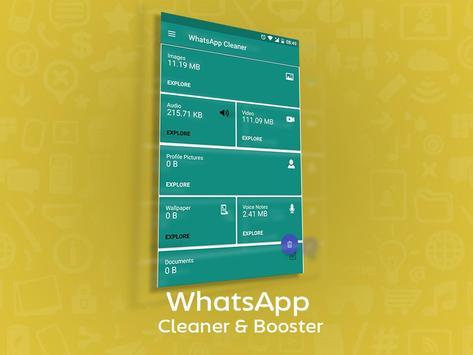 Cleaner & Booster for WhatsApp screenshot 1