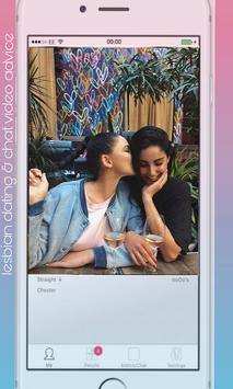 Lesbian dating & chat video advice screenshot 2