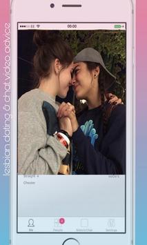 Lesbian dating & chat video advice screenshot 3