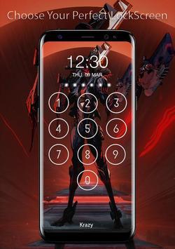 League of Lock Screen Keypad HD poster