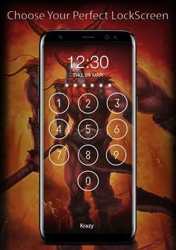 League of Lock Screen Keypad HD screenshot 5