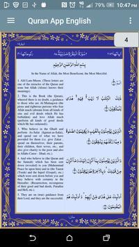 Quran App English screenshot 1