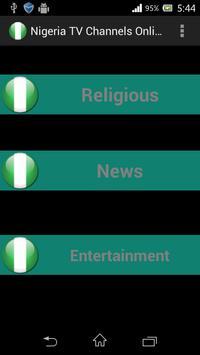 Nigeria TV Channels Online screenshot 1