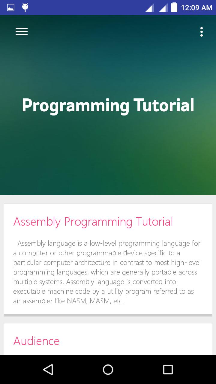 Learn Assembly language for Android - APK Download