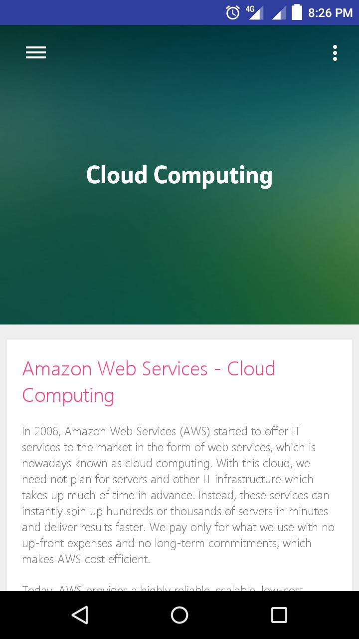 Learn Aws for Android - APK Download