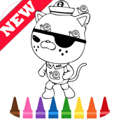 Learn Draw Coloring for Octonaues by Fans icon