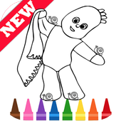 Draw Coloring for In The Night Best Garden by Fans icon