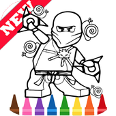 Learn Draw Coloring for NinjaGO by Fans icon