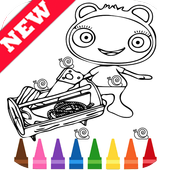 Learn Draw Coloring for Waybulu by Fans icon