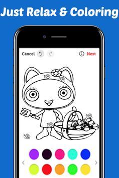 Learn Draw Coloring for Waybulu by Fans apk screenshot