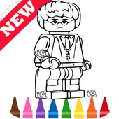 Learn Draw Coloring for Lego Harry Wizards by Fans icon